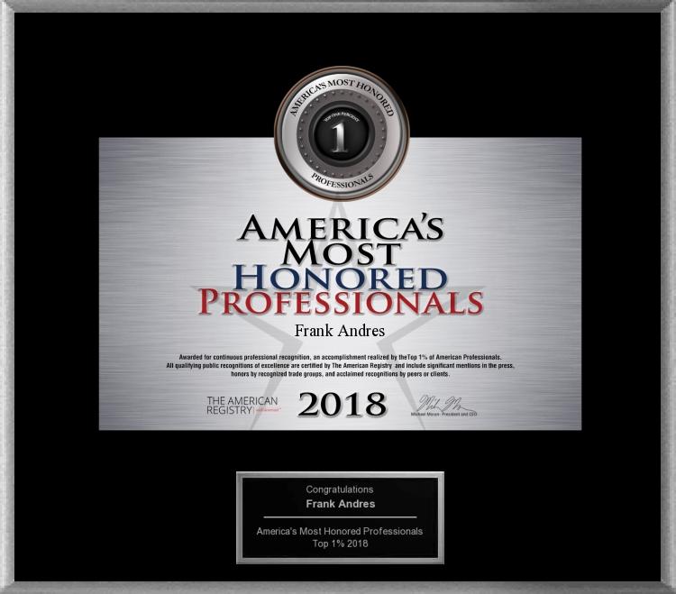 FJA award 2018